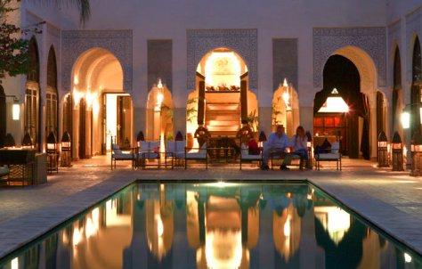 Ernesto Colman viaja a Marrakech