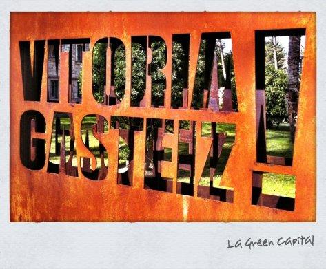 Ernesto Colman en la capital verde europea: Vitoria