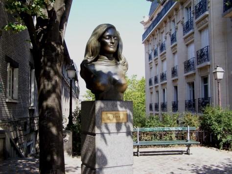 Ernesto Colman nos habla del busto de Dalida