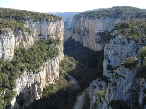 Ernesto Colman viaja a la foz de lumbier en Navarra