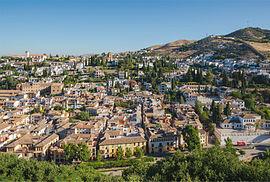 El Albaicín, una de las zonas preferidas de Ernesto Colman