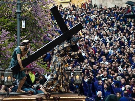 Ernesto Colman en la Semana Santa de Cuenca