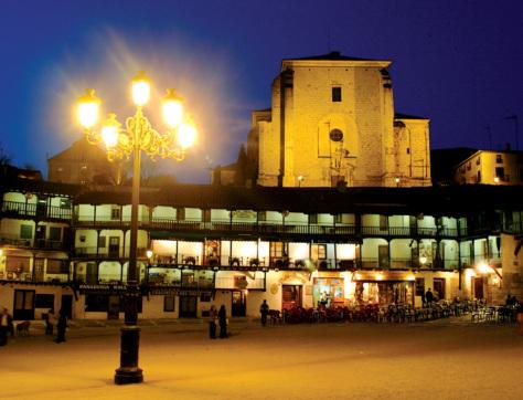 Chinchón, destino elegido por Ernesto Colman
